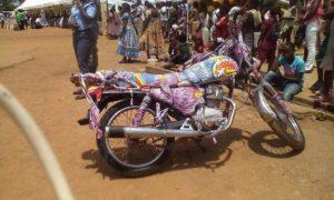 moto en kaba